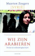 Wij zijn Arabieren - Maarten Zeegers (ISBN 9789057595219)