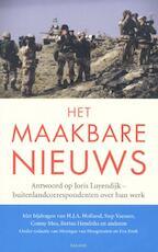 Het maakbare nieuws - Monique van Hoogstraten, Amp, E. Jinek (ISBN 9789050189187)