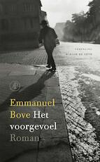 Het voorgevoel - Emmanuel Bove (ISBN 9789029539180)