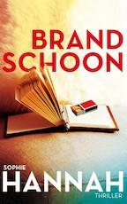 Brandschoon - Sophie Hannah (ISBN 9789026140914)