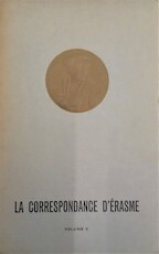 La correspondance d'Erasme Volume V 1522-1524 - Desiderius Erasmus