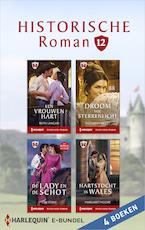 Historische roman e-bundel 12 (4-in-1) - Ruth Langan (ISBN 9789402533507)