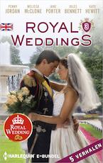 Royal Weddings 3 (5-in-1) - Penny Jordan (ISBN 9789402534863)