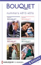 Bouquet e-bundel nummers 4013 - 4016 - Maisey Yates (ISBN 9789402538472)
