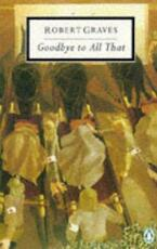 Goodbye to all that - Robert Graves (ISBN 9780140180985)