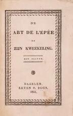De Abt de L'Epée en zijn kweekeling - J. N. Bouilly