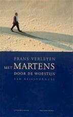 Met Martens door de woestijn - Frans Verleyen (ISBN 9789063035754)