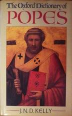 The Oxford dictionary of Popes - John Norman Davidson Kelly (ISBN 9780192139641)