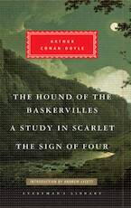 Hound of the Baskervilles, A Study in Scarlet, the Sign of Four - Arthur Conan Doyle (ISBN 9781841593630)