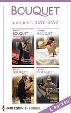 Bouquet e-bundel nummers 3490-3493 - Sarah Morgan (ISBN 9789402500929)