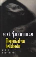 Memoriaal van het klooster - José Saramago, Harrie Lemmens (ISBN 9789029058803)