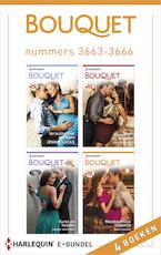 Bouquet e-bundel nummers 3663-3666 - Jennie Lucas (ISBN 9789402514643)