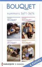 Bouquet e-bundel nummers 3671-3674 - Annie West (ISBN 9789402515039)