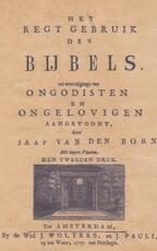 Dubbele moraal - Jaap van den Born (ISBN 9789463188500)