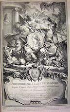 Histoire Militaire de Flandre, Depuis l'année 1690. jusqu'en 1694. inclusivement - Chevalier de Beaurain