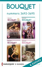 Bouquet e-bundel nummers 3692-3695 - Caitlin Crews (ISBN 9789402516333)