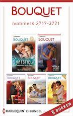 Bouquet e-bundel nummers 3717-3721 - Melanie Milburne (ISBN 9789402523713)