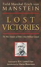 Lost Victories - Field Marshal von Manstein, Erich Von Manstein (ISBN 9780760320549)