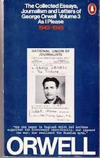 The Collected Essays, Journalism and Letters of George Orwell - George Orwell (ISBN 9780140031539)