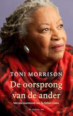 De oorsprong van de ander - Toni Morrison (ISBN 9789403129907)