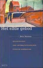 Het elfde gebod - Bern Martens (ISBN 9789033446146)