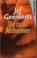 De zaak Alzheimer - Jef Geeraerts