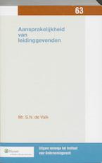 Aansprakelijkheid van leidinggevenden - S.N. de Valk (ISBN 9789013078213)