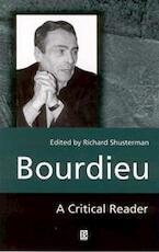 Bourdieu - Richard Shusterman (ISBN 9780631188186)