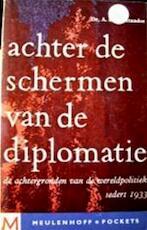 Achter de schermen van de diplomatie - Anton L. Constandse (ISBN 9789029005630)
