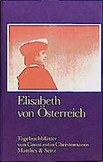 Elisabeth von Österreich - Constantin Cristomanos (ISBN 9783882215045)