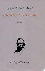 Journal intime - Henri Frédéric Amiel (ISBN 9782825104934)
