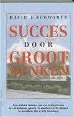 Succes door groot denken - David J. Schwartz (ISBN 9789075507119)