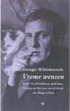 Vrome wensen - Georges Wildemeersch (ISBN 9789023410782)