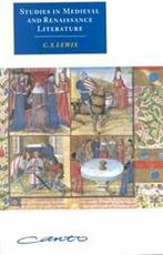 Studies in Medieval and Renaissance Literature - C. S. Lewis (ISBN 9780521645843)