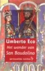 Het wonder van San Baudolino - Umberto Eco (ISBN 9789057136108)