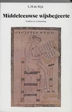 Middeleeuwse wijsbegeerte - L.M. de Rijk (ISBN 9789023215257)