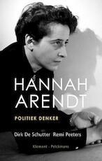 Hannah Arendt - Dirk de Schutter, Remi Peeters (ISBN 9789086871452)