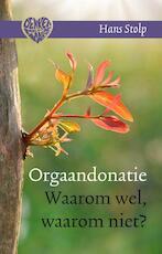 Orgaandonatie - Hans Stolp