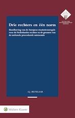 Drie rechters en één norm - Alke Johanna Metselaar (ISBN 9789013140477)