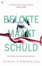 Belofte maakt schuld - Sarah Pinborough (ISBN 9789044354515)
