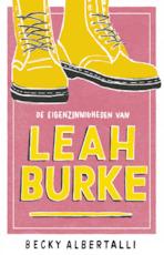 De eigenzinnigheden van Leah Burke - Becky Albertalli (ISBN 9789463491235)