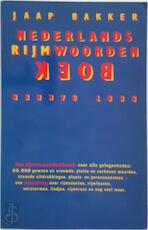 Nederlands rijmwoordenboek - Jaap Bakker (ISBN 9789035103764)