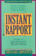 Instant Rapport - Michael Brooks (ISBN 9780446391337)