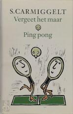 Vergeet het maar . Ping pong