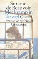 Met kramp in de ziel - Simone de Beauvoir, Jeanne Holierhoek (ISBN 9789052264561)