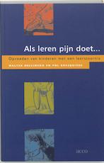 Als leren pijn doet - W. Hellinckx, P. Ghesquiere (ISBN 9789033460678)