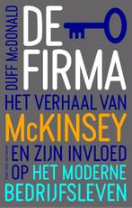 De firma - Duff McDonald (ISBN 9789035140073)