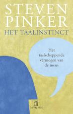 Het taalinstinct - Steven Pinker (ISBN 9789046704592)