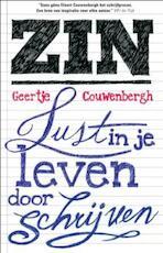 ZIN, lust in je leven door schrijven - Geertje Couwenbergh (ISBN 9789020205169)
