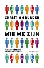 Wie we zijn als we denken dat niemand kijkt - Christian Rudder (ISBN 9789045023526)